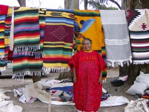 Conchita the Blanket Weaver Ajijic